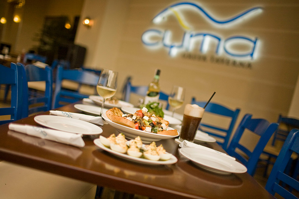 CYMA Greek Taverna Launches its New Exciting Menu!