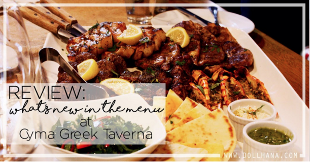 What's New in the Menu at Cyma Greek Taverna?